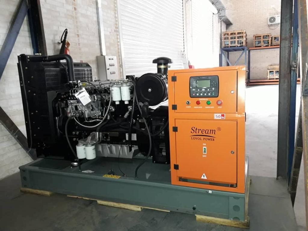 دیزل ژنراتور آکبند کوپله فابریک لوول مدل 1006TG2 به قدرت 110KVA