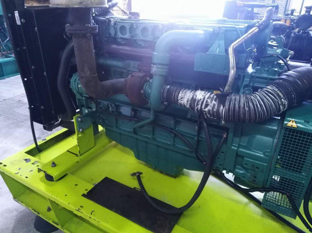موتور دیزل دست دوم ولوو td720 کوبله فابریک 125کاوا